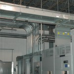 commercial conduit runs to main distribution room tenant improvement