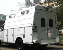 Williams Electric Service Truck properly upfitted for Residential/Commercial service and repair.