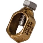grounding system, ground rod clamp